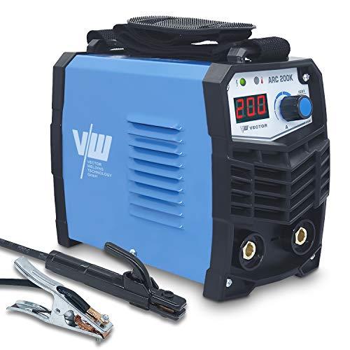 Vector Welding - Soldador de electrodos con 200 amperios IGBT - MMA...