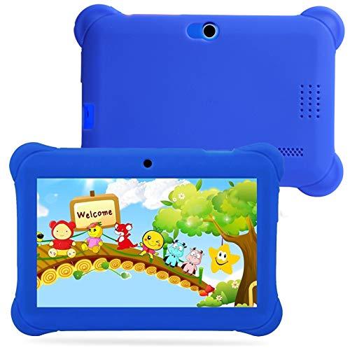 Tableta Kids Edition Pantalla Fire HD de 7 Pulgadas, 512MB + 4 GB, Compatible con Conexión Bluetooth Tableta de Aprendizaje para Niños,Azul