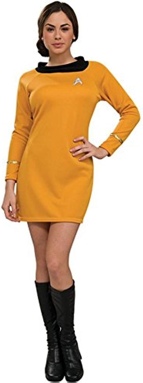 Star Trek Kostüm Gold klassischen Frauen