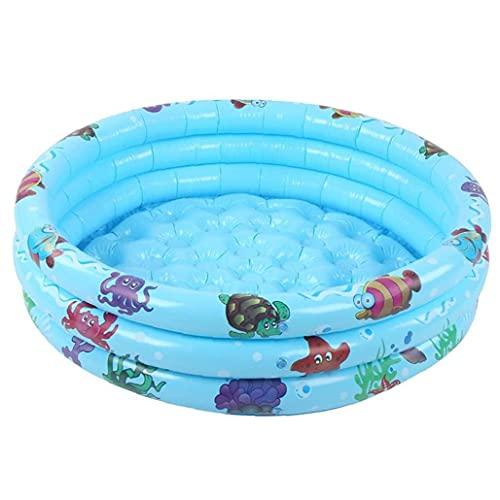 Piscina De Salón para Bebés Portátil, Piscina Inflable Pantáquilia Pantalliza Collable PVC Kiddie Pool 90 Cm