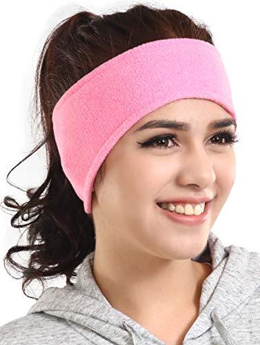 Ear Warmer Headband - Winter Fleece Ear Cover for Men & Women - Warm & Cozy Cold Weather Ear Muffs for Running & Cycling
