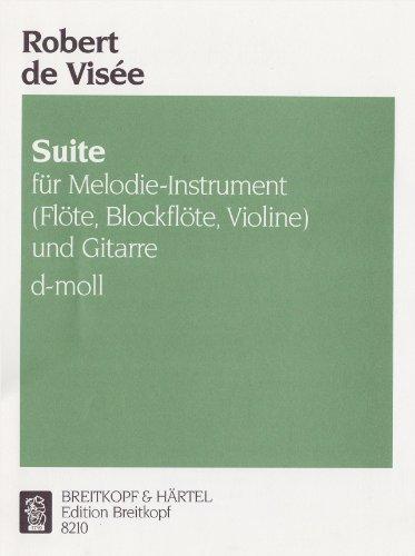 Suite d-moll für Flöte (Blockflöte, Violine) und Gitarre (EB 8210 )