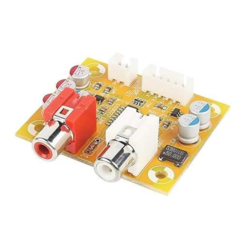 Junww DIY-Kit DAC Sabre ES9023 Analoge I2S 24 Bit 192 kHz Decoderplatine Passend for Raspberry Pi dauerhaft