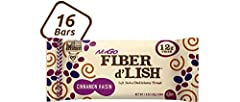 You have never tasted a fiber bar like this. A flavorful soft-baked fiber bar with 12g of fiber in every bar. No need to deal with messy powders or the chalky taste of other fiber supplements. Fiber d'Lish gives you the fiber you need with dessert-li...