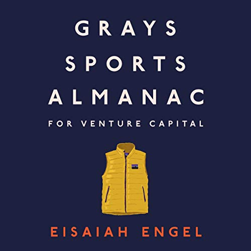 Grays Sports Almanac for Venture Capital: A New Standard for Optionality to Beat the Odds audiobook cover art