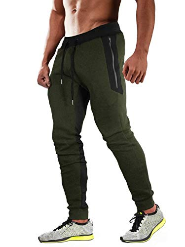 Joggers for Men with Pockets Sweatpants for Men Closed Bottom Workout Pants Running Pants Gym Pants Joggers Pants Men Athletic Pants