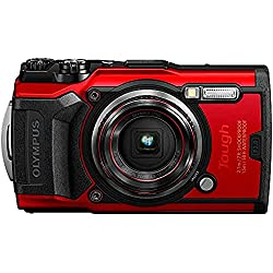 Image of Olympus Tough TG-6 Waterproof Camera, Red: Bestviewsreviews