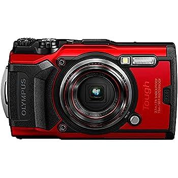 OLYMPUS Tough TG-6 Waterproof Camera Red