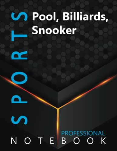"""Compare Textbook Prices for Sports, Pool, Billiards, Snooker Ruled Notebook, Professional Notebook, Writing Journal, Daily Notes, Large 8.5"""" x 11"""" size, 108 pages, Glossy cover  ISBN 9798496433471 by ProSportz Cre8tive Press"""