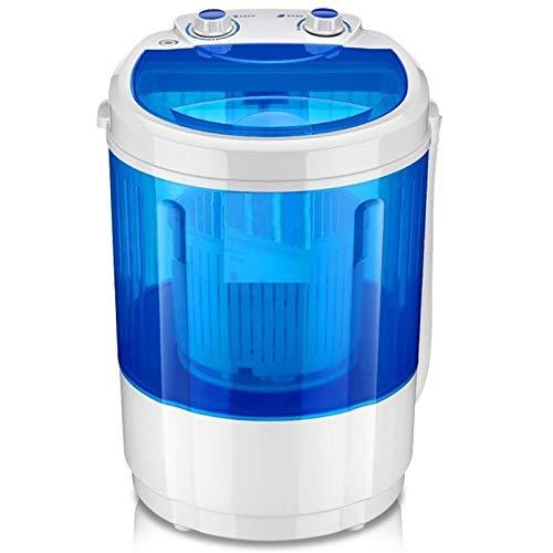 ADA Portable Mini Washing Machine with Dryer Basket(4Kg) - Blue...