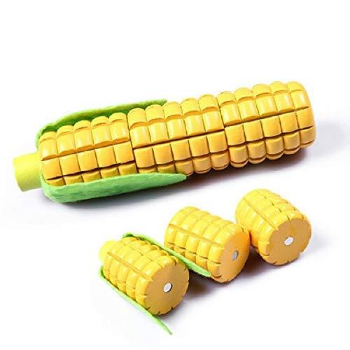 Madera Vegetales de Frutas magnetizado Cutler Cocina Juguetes de los niños Juguetes educativos, Liqingshangmao