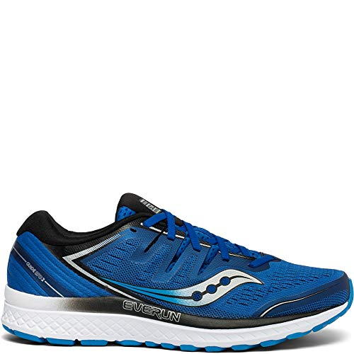 Saucony Men's Guide ISO 2 Running Shoe, Blue, 9.5 M US
