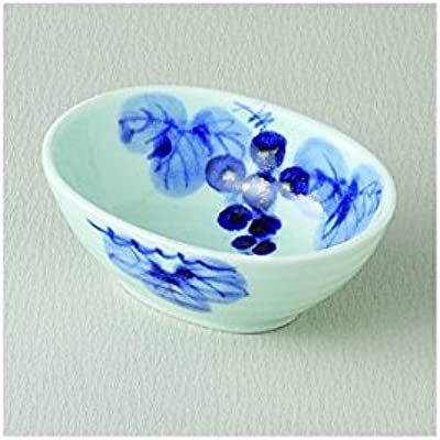Set of 5 kyo grape koban small bowls. J43-