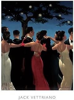 Waltzers Jack Vettriano Dance Romance Love Night Under Stars Print 23.5x31.5