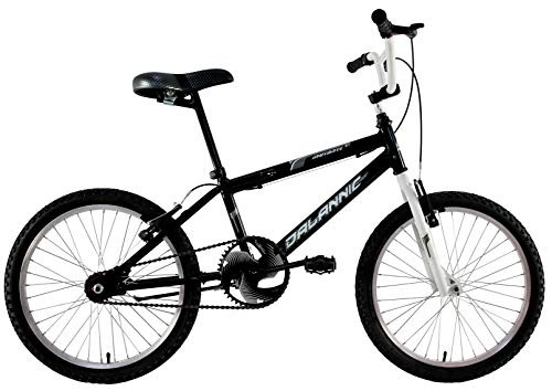 Bicicleta Infantil Aro 20 Cross Bmx Freestyle Mutante Preta