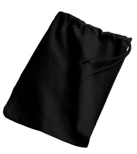 Port & Company B035 Men's Shoe Bag Black One Size