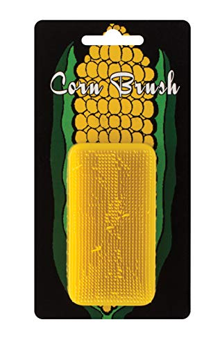 Bay Mill 9944 Corn Brush and Vegetable Scrubber, 1.5 x 3, Yellow