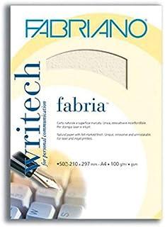 ثوب ورق مراسلات A4 فابريانو 100 جرام لون بيج lمنقط بالرمادي 50ورقة