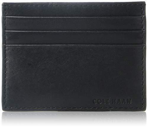 Cole Haan Men's Hamilton Grand Credit Card Case, black, One Size