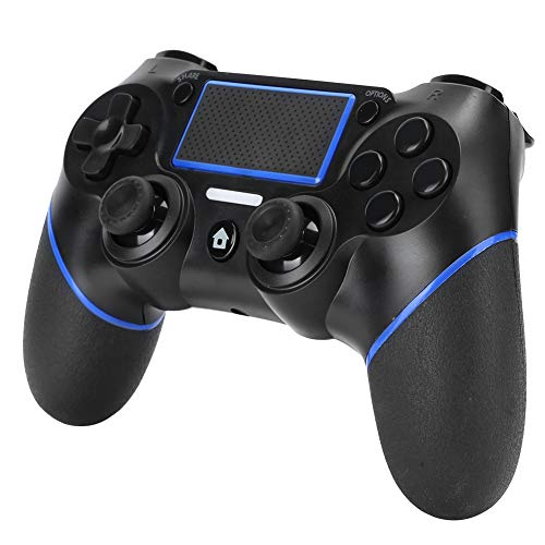 Bluetooth Game Controller for PS4, Wireless Gamepad Gaming Controller Joystick for Switch Console, with Touch Pad, 6-Axis Gyro & Double Vibration, Compatible with PC/Computer Windows 7/8/10
