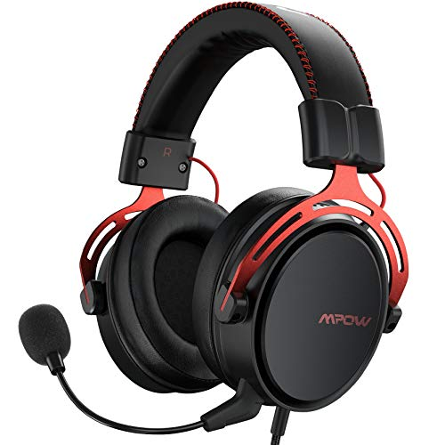 Mpow PS4 Headset Xbox one, Air SE Gaming Headset with mic, Over-Ear Gaming...