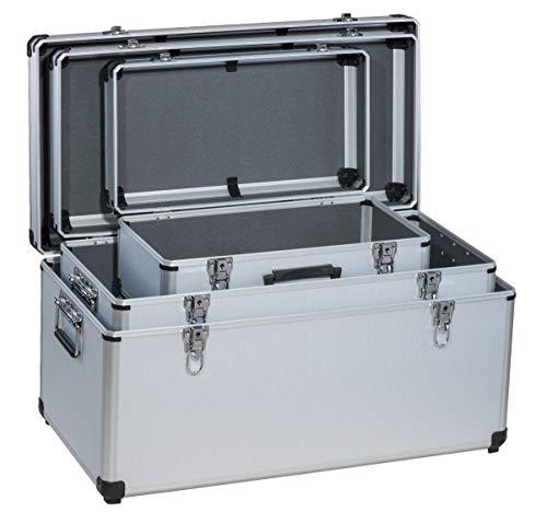 TrendLine Werkzeugbox-Set 3 in 1 Alubox Werkzeugkoffer Mehrzweckbox