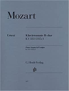 Piano Sonata B flat major  KV 333 (315c) - piano - (HN 397)
