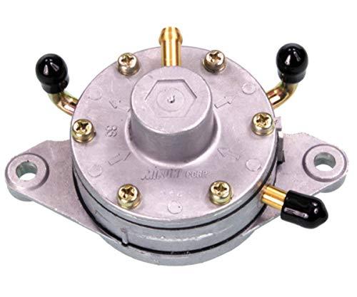 Price comparison product image Mikuni 14-2223 Fuel Pump Dual Round - Flush Mount