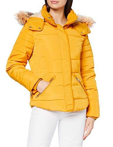 ESPRIT Damen 090EE1G304 Jacke, 720/BRASS Yellow, M