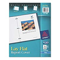 Avery Lay Flat View Report Cover with Flexible Fastener ,COVER,LAY FLAT RPT,BE