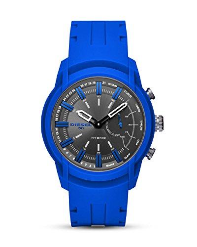 Diesel Smartwatch Uomo con Cinturino in Silicone DZT1017