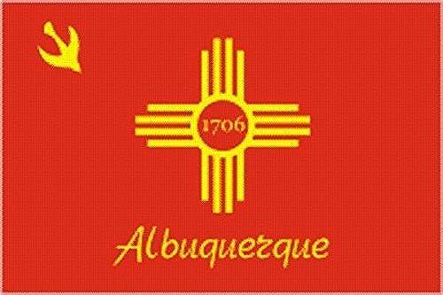 U24Drapeau du Albuquerque haute qualité pour bateau drapeau 120x 180cm