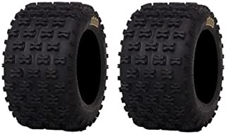 Pair of ITP Holeshot MXR6 ATV Tires Rear 18x10-8 (2)