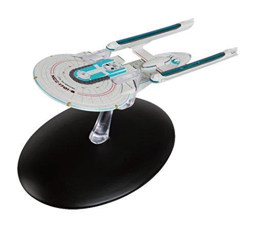 Filmwelt Shop USS Enterprise NCC-1701-B Eaglemoss Collection Modell - Star Trek die Offizielle Sammlung: Ausgabe #40 mit deutschem Magazin