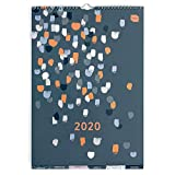 Boxclever Press Perfect Year Calendario 2020 A3 con etichette. Calendario 2020 da muro da ...