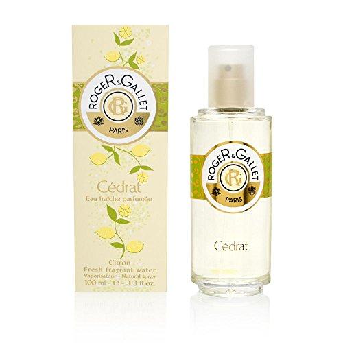 Roger & Gallet Cedrat by Roger & Gallet for Men And Women Eau Fraiche Parfume Spray, 3.4-Ounce