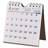 能率 NOLTY カレンダー 2020年 4月始まり B7 卓上 39 U239 ( カレンダー )