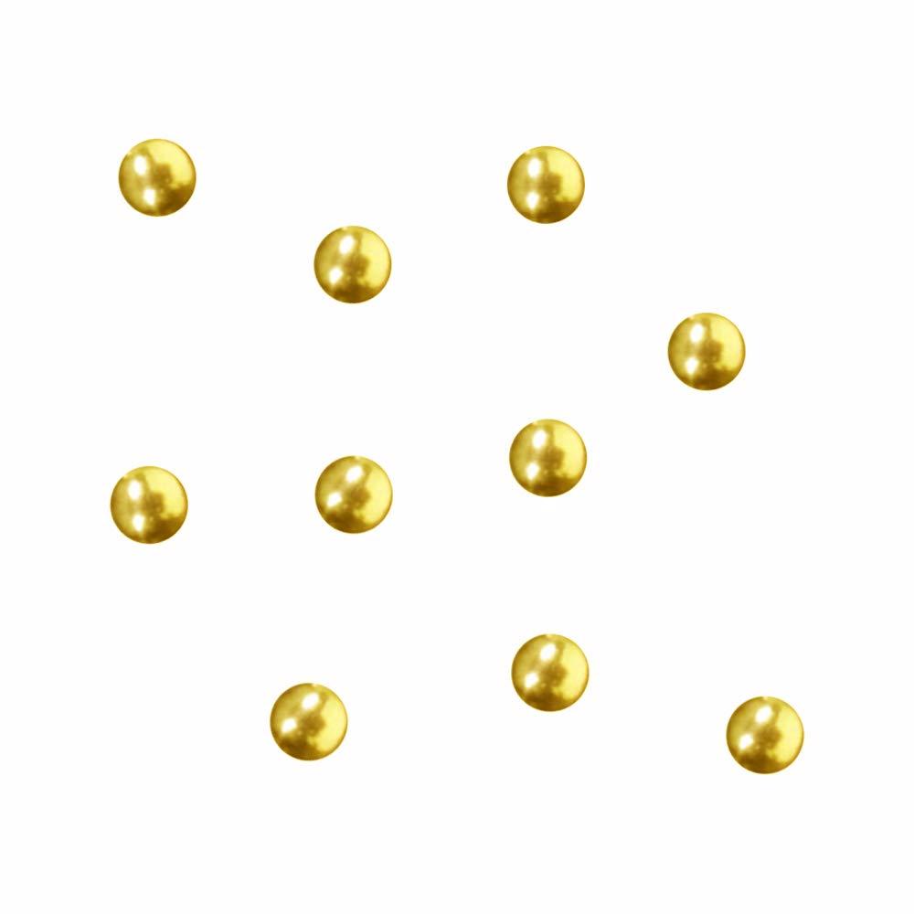 価値やさしくモーテルSWAROVSKI (スワロフスキー)ラウンドメタル ゴールド 2.0mm 50P