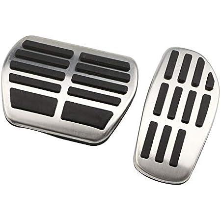 Edelstahl Steel Fußstütze Pedal Auto Gas Bremspedal Abdeckung Auto