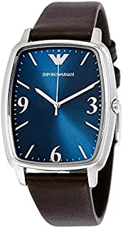 Emporio Armani Men's AR2491 Dress Brown Leather Watch