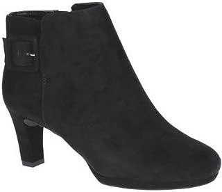 [ロックポート] レディース Total Motion スエードレザー Leah ブーツ 婦人靴 ショートブーツ ヒール 女性用