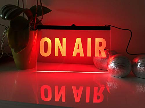 ON AIR Leuchtschild LED Neu Schild Laden Reklame Neon Neonschid Radio DJ