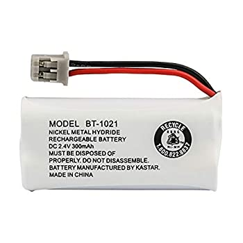 Uniden BT-1021 Replacement Rechargeable Battery For many Uniden Phone Systems and Cordless Handsets Nickel Metal Hydride Rechargeable Battery DC 2.4V 300mAh