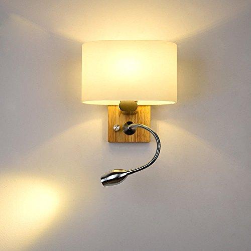 JJZHG Wandlamp, waterdicht, wandverlichting, led, kleine wandlamp, nachtkastje, slaapkamer, decoratieve wandlamp, inclusief wandlamp, stoere wandlampen