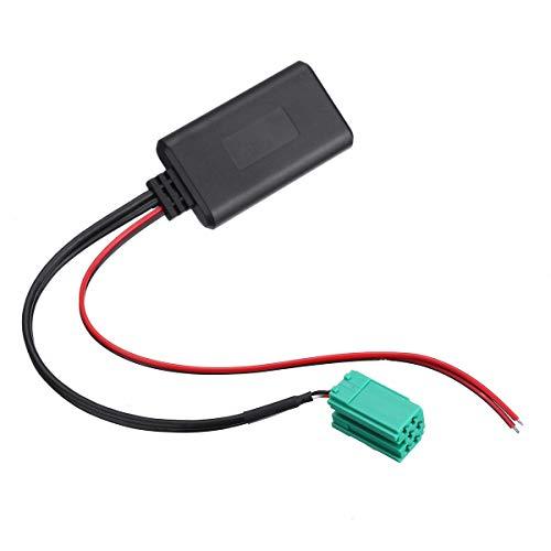 YONGYAO Adaptador Bluetooth para Coche AUX Cable estéreo Radio para Renault Clio Kangoo Megane Scenic 2005-2011 12V