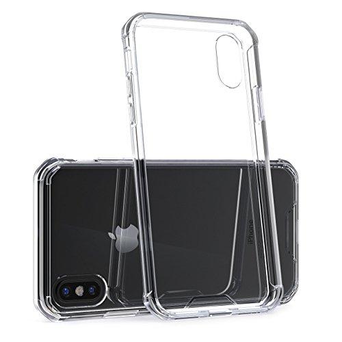 Oqton Oqton - Carcasa rígida para iPhone X (protección contra Golpes, Contorno Blando, Poliuretano termoplástico)