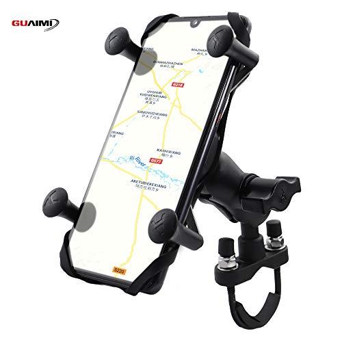GUAIMI Multifunktion Handyhalterung Kamerahalter Universal für 22mm/28mm Rohre Kompatibel mit Yamaha MT-07 FZ-07 14-18 MT-09 FZ-09 14-18 KTM Duke 125 200 390 1290 Superduke/R