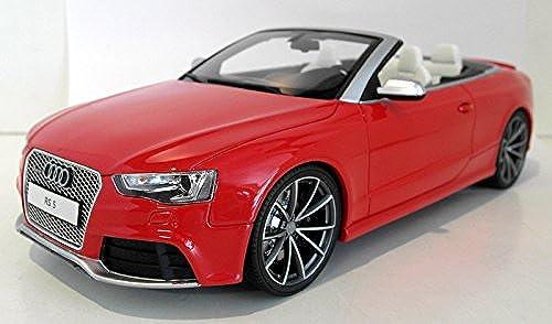 Audi RS5 Cabriolet, rot, Modellauto, Fertigmodell, GT Spirit 1 18