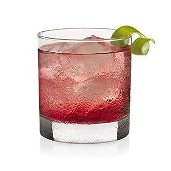 Libbey Heavy Base Rocks Cocktail Glasses Set of 4