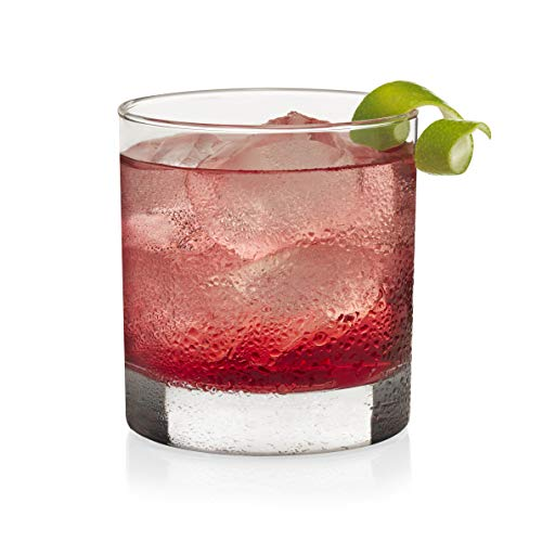 Libbey Heavy Base Rocks Cocktail Glasses, Set of 4